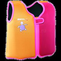 Детский жилет для плавания р.M 7-8 лет (розовый)
