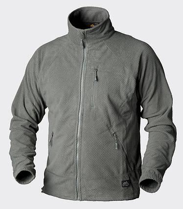 Куртка ALPHA - Grid Fleece - Foliage Green, фото 2