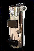 Твердотопливный котёл длительного горения Plus Term (Плюс Терм) Хром , фото 2