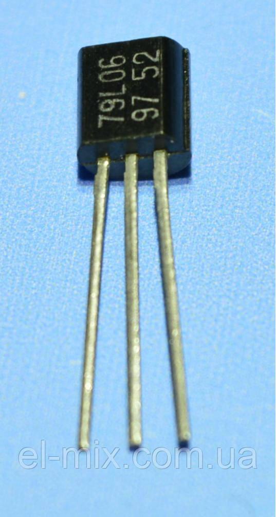 Микросхема 79L06  ТО-92  снд