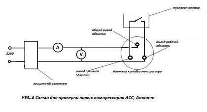 Холодильный сленг - проверка компрессора на прямую