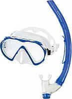 Набор Mares MISTRAL (маска + трубка) для ныряний (синий)