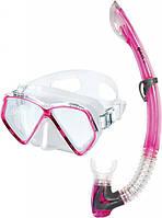 Набор Mares  PIRATE 14 (маска + трубка) для дайвинга (розовый)