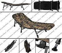 Раскладушка Carp на шести ногах (Камо: лес - осень)