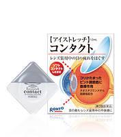 Расслабляющие глазные капли для контактных линз ROHTO Eye