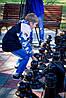 Деревянные уличные шахматы