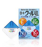 Японские мультивитаминные глазные капли ROHTO Vita Cool 40-alfa