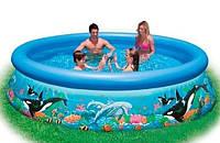 Надувной семейный бассейн Intex 54904