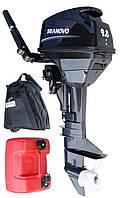 Двухтактный лодочный двигатель Seanovo T9,8BMS