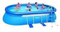 Овальный бассейн для всей семьи 549х305x107 см