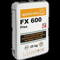 Морозостойкий клей для фасадной плитки quick-mix FX 600 Flex