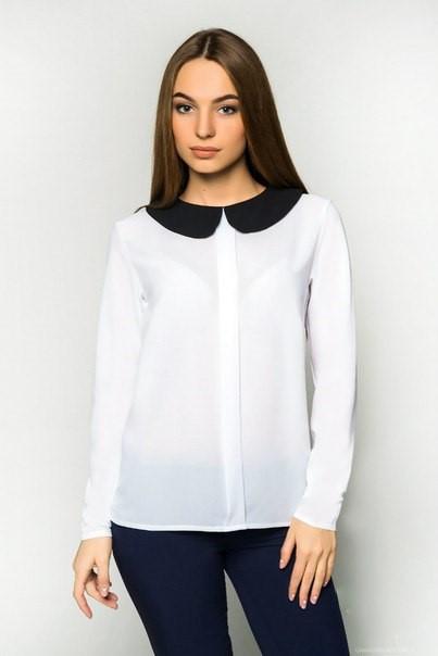 Шифоновая блуза 366 , фото 1