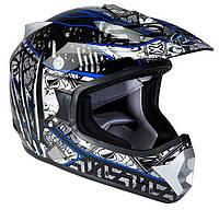 Шлем GEON 623 Кросс Score Black-Blue