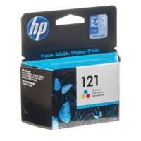 Картридж струйный HP для DJ D2563/F4283 HP 121 Color (CC643HE)