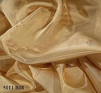 Тюль кристалон песочный