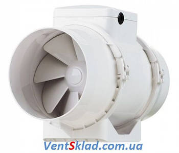 Промышленный канальный вентилятор с двумя рабочими скоростями (до 2460 об.мин.) Вентс ТТ 150