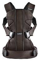 Эргономичный рюкзак-кенгуру Babybjorn Baby Carrier ONE Mesh, Brown/Black , фото 1