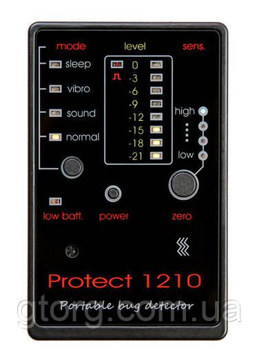 Портативный детектор жучков и беспроводных камер Protect 1210