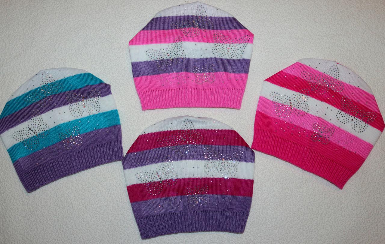 Детские шапки красиво,модно,стильно 4-8 лет
