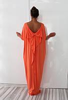 Красивое летнее платье свободный силуэт