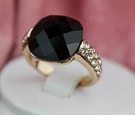 Кольцо КАРДИНАЛ ювелирная бижутерия золото 18К декор кристаллы Swarovski