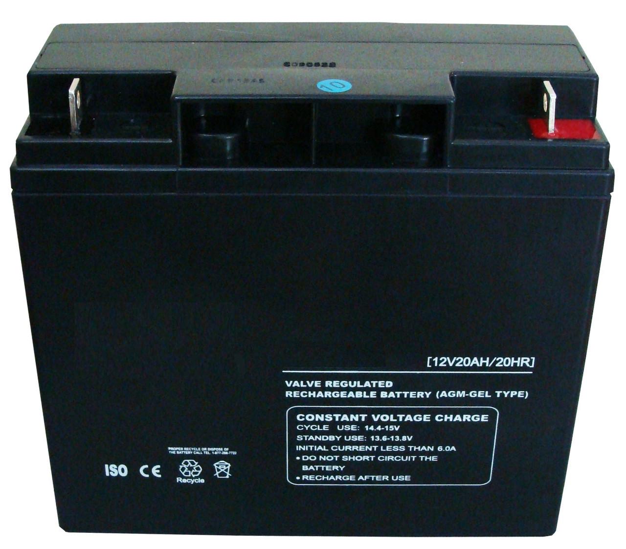 Аккумуляторная батарея 12В 20.0 АЧ
