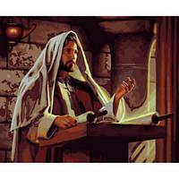 Набор для рисования картины по номерам 5112. ПРОПОВЕДЬ ИИСУСА