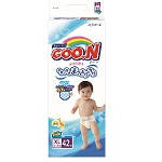 Подгузники GOO.N для детей 12-20 кг (размер Big (XL), на липучках, унисекс, 42 шт) (753662)