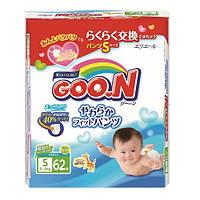 Трусики - подгузники GOO.N для активных детей 5-9 кг (размер S, унисекс, 62 шт) (753710)