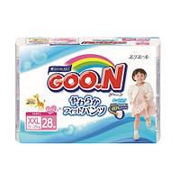 Трусики - подгузники GOO.N для девочек 13-25 кг (размер BigBig (XXL), 28 шт) (753717)