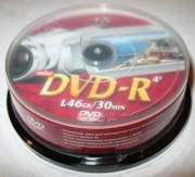 "Диски VS mini DVD - R 1.4GB CB ""10"" 4x"