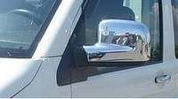 Накладки на зеркала Volkswagen T5 (фольксваген т5), ABS. Carmos