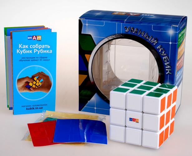 Кубик Рубика 3х3 Smart Cube 3х3 White (SC302)
