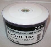 "Диски CMC DVD-R Print white glossy""50"" 16x"