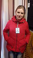 Куртка- безрукавка visdeer красная