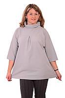 Туники +для женщин жемчужная  большие размеры 54-58 , Бл 684-1.