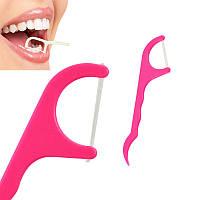 Зубная нить (флосс) и зубочистка (25шт)