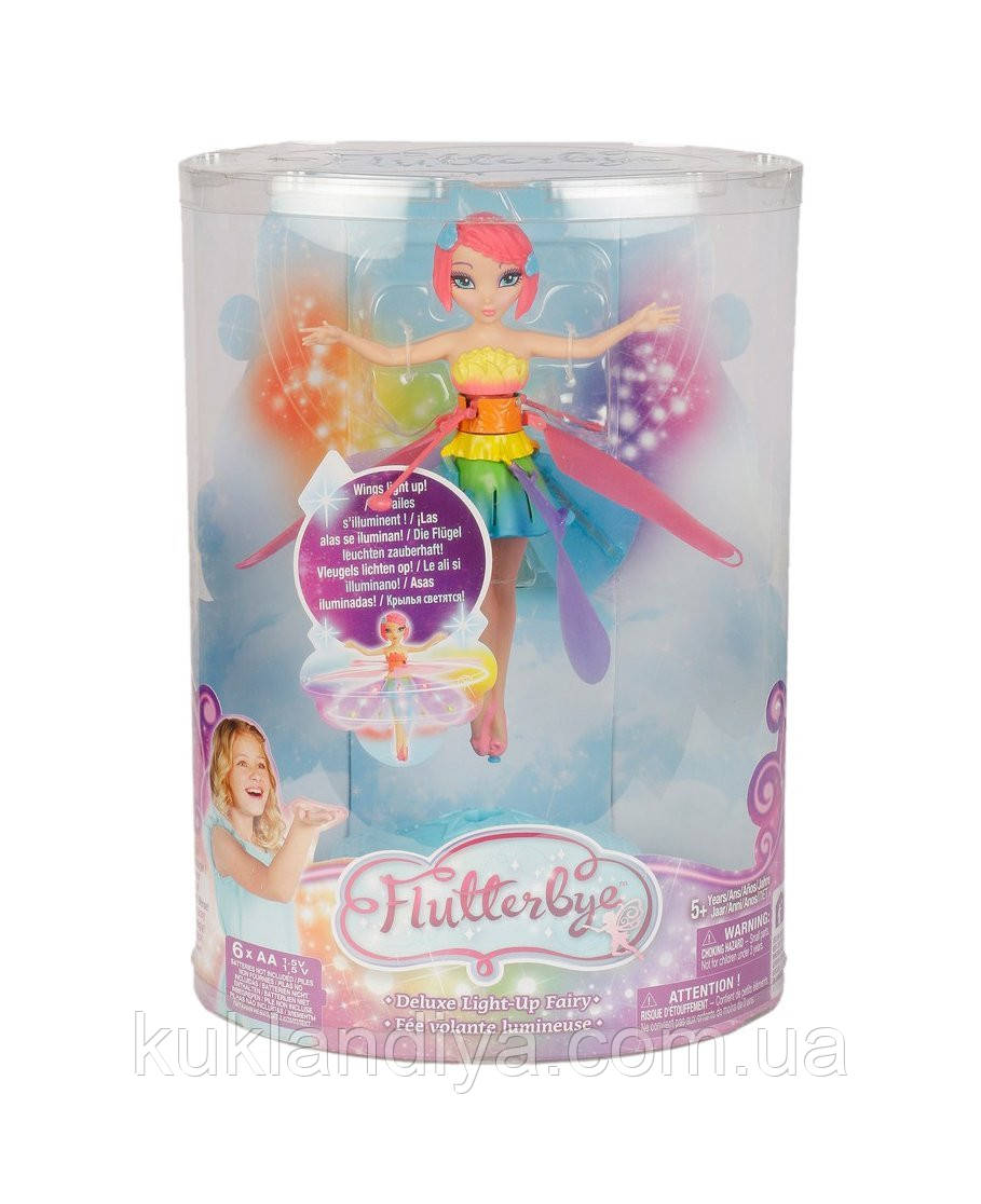 Летающая Фея Светящаяся - Flutterbye Deluxe Light-Up Fairy