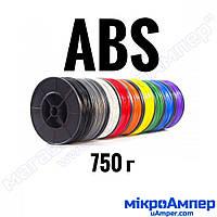 ABS пластик 0.75кг 1.75мм (Колір пластику: Червоний)