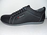 Мужской кожаный спортивный туфель Barzoni