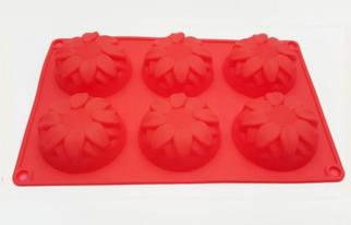 Форма силиконовая для выпечки Подсолнух 6
