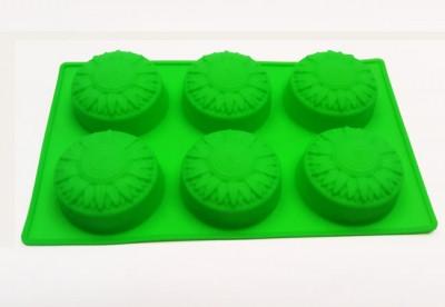 Форма силиконовая для выпечки Подсолнух 6 новый