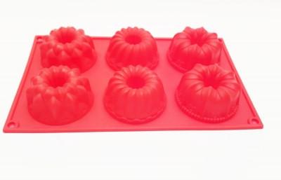 Форма силиконовая для выпечки Втулка ассорти 6