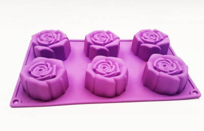 Форма для выпечки Роза 6 новая
