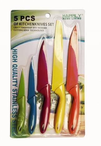 Ножи цветные 5 штук