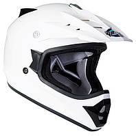 Шлем GEON 623 Кросс White