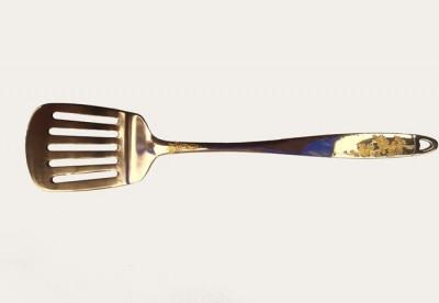 Лопатка гарнирная Новый цветок золото