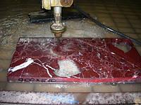 Гидрорезка мрамора