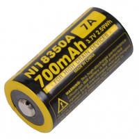 Аккумулятор литиевый Li-Ion IMR 18350 Nitecore 3.7V (700mAh)