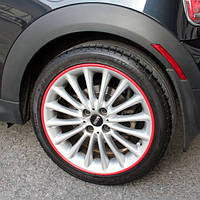 Защита литых дисков красного цвета R15-R16